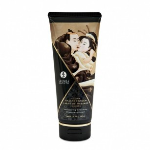 SHUNGA - KISSABLE MASSAGE CREAM INTOXICATING CHOCOLATE 200ML